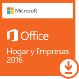 ESD - Microsoft Office Home and Business 2016 - Multilenguaje. -