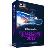 Bitdefender Total Security Multi-Device 2017 1 year 5 Dispositivos -