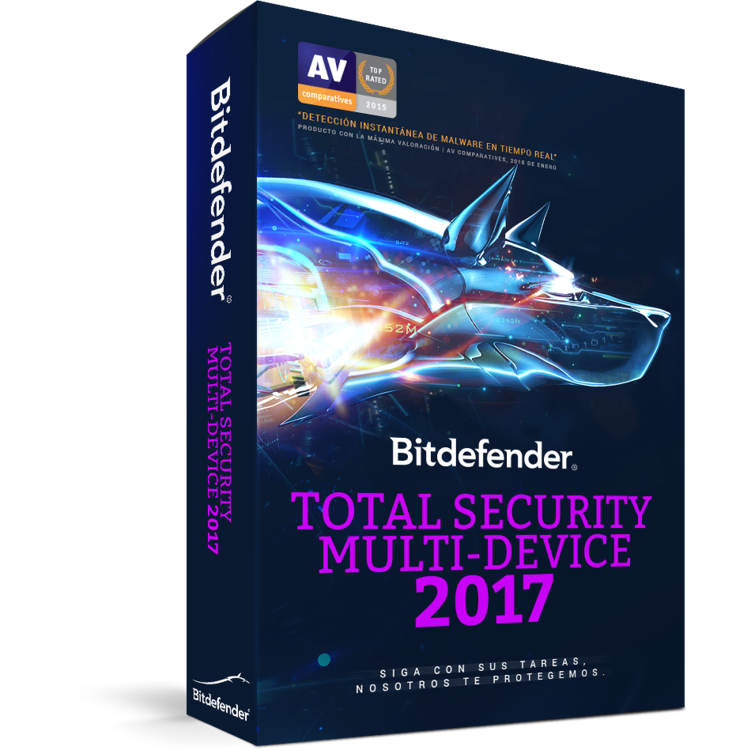 Bitdefender Total Security Multi-Device 2017 1 year 10 Dispositivos -
