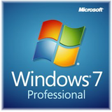 Microsoft Get Genuine Kit for Windows 7 Professional SP1 - licencia OEM, Legalización Inglés -