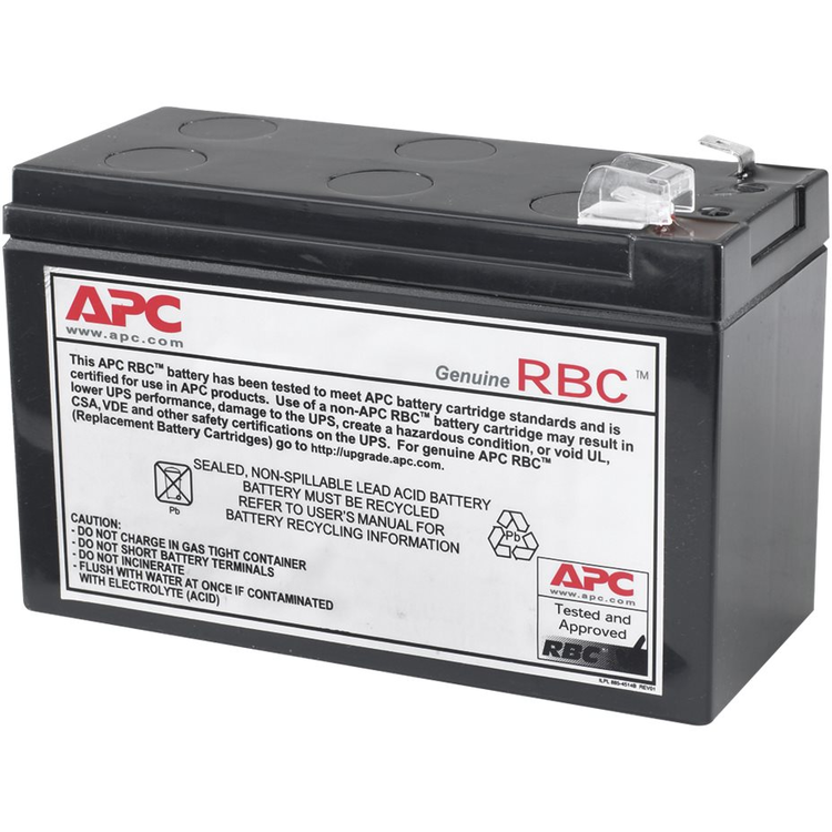 APC Replacement Battery Cartridge #110 - batería de UPS - Ácido de plomo