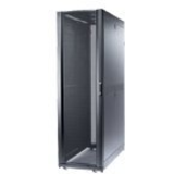 APC NetShelter SX Enclosure with Roof and Sides - rack - 48U -