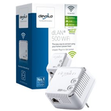 Devolo dLAN 500 WiFi - puente - 802.11b/g/n - conectable en la pared -
