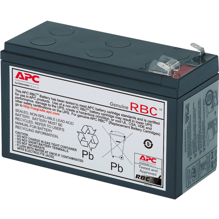 APC Replacement Battery Cartridge #106 - batería de UPS - Ácido de plomo