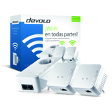 Devolo dLAN 550 WiFi - Equipo de red - puente - 802.11b/g/n - conectable en la pared -