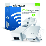 Devolo dLAN 550 WiFi - Starter Kit - puente - 802.11b/g/n - conectable en la pared -