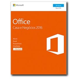 Microsoft Office Home and Business 2016 - caja de embalaje - 1 PC Portugués 1 PC Sin materiales, P2 -