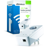 Devolo dLAN 550+ WiFi - single-puente - conectable en la pared -