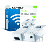 Devolo dLAN 550+ WiFi - starter kit- puente - conectable en la pared -