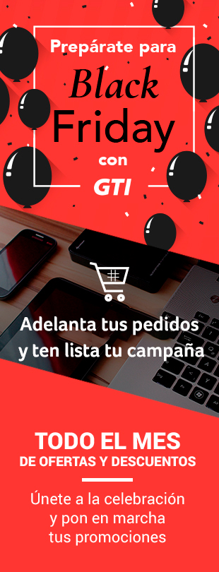 Prep�rate para Black Friday con GTI